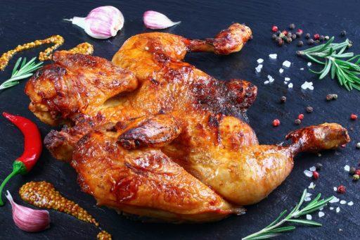 Pollo en barbacoa